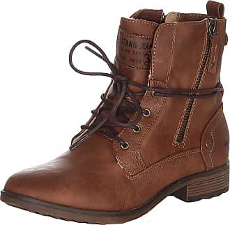 Mustang 1265-602 Womens Booties, schuhgröße_1:38 EU, Farbe:Brown