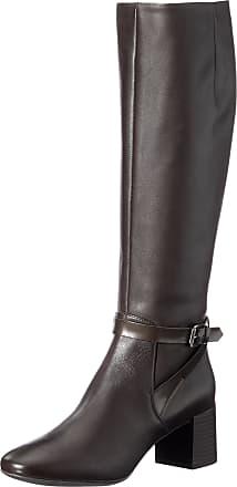 UK Geox respira mendi d Ankle boots in dark brown ladies
