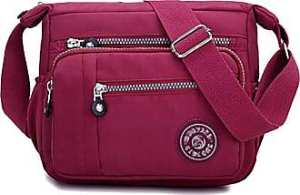 GFM Womens Small Nylon Cross Body Shoulder Bag (88)(S1-8013-GHFSH)