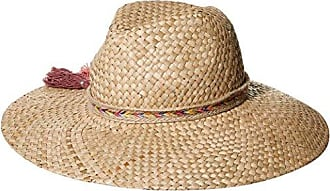 ále by Alessandra Womens Margarita Raffia Sunhat Packable, Adjustable & UPF Rated, Natural, One Size