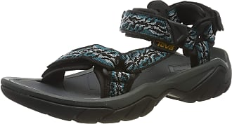 Teva Terra FI 5 Universal, Women Heels Open Toe Sandals, Blue (Manzanita Deep Lake Mdlk), 9 UK (42 EU)