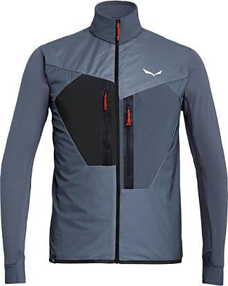 Salewa Pedroc Hybrid PTC Alpha Jacket Giacca sintetica Uomo | blu/nero/grigio