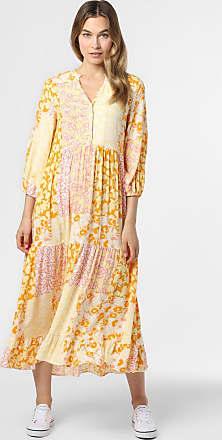 Y.A.S Damen Kleid - YASPatcha gelb