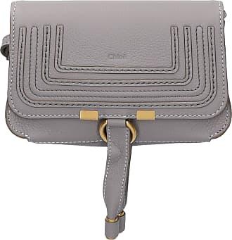 Chloé Belt Bag MARCIE Kalbsleder logo grau