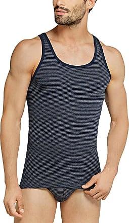 Schiesser Mens Original Classics Shirt 0/0 Undershirt, Blue (Dark Blue 803), XL
