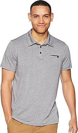 Rip Curl Mens New Age Vapor Cool Polo, Athletic Heather (AHE), S