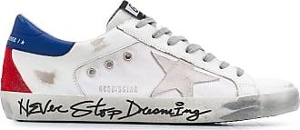 Golden Goose Superstar Sneakers mit Print - Weiß