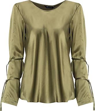 Uma Blusa de seda - Verde