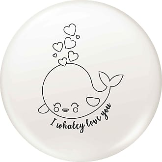 Flox Creative Small 25mm Pin Badge I Whaley Love You
