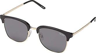 Quay Eyeware QUAYxBenefit Evasive (Black/Smoke) Fashion Sunglasses