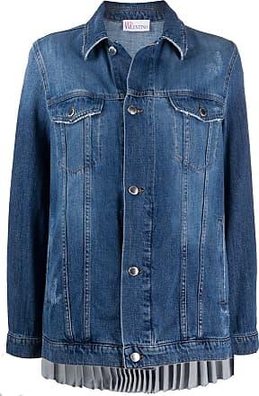Red Valentino Jaqueta jeans azul