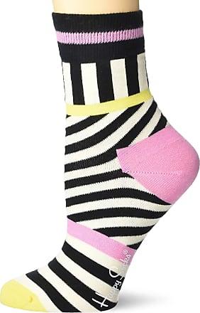 Happy Socks Striped Stripes 1/2 Crew Sock