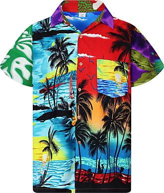 V.H.O. Funky Hawaiian Shirt,Mondy,3XL