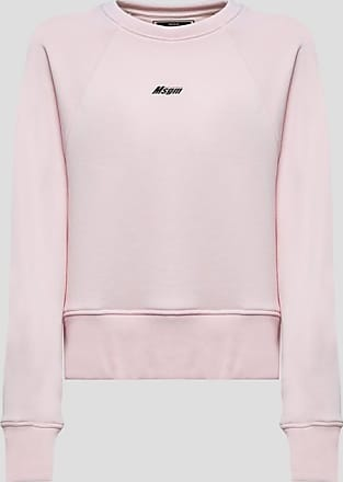 Msgm sweatshirt with lettering print at back