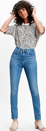 Levi's 721 High Rise Skinny Jeans - Blue