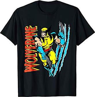 2f567e010 MARVEL X-Men Wolverine Vintage Claw Slice Graphic T-Shirt