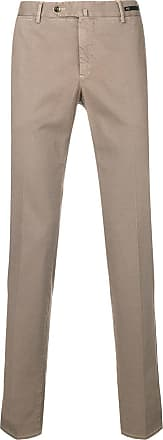 PT01 straight leg trousers - Neutrals