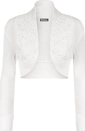 Strickjacke Lange Ärmel Weiß Trussardi Pullover Mann Lang Sleeves Weiß