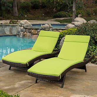 BEST SELLING HOME Outdoor Colored Lounge Cushion - Set of 2 Caramel - 344627