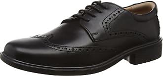 Padders Mens Riley Brogues, Black (Black Polished), 7 UK