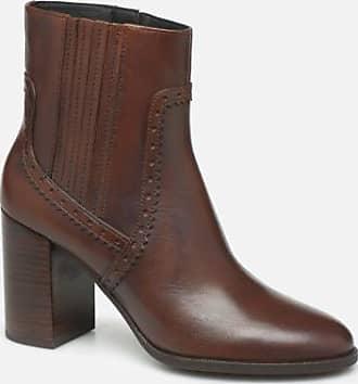 Geox Stiefel: Damen Geox Braun Hochhackige Stiefeletten