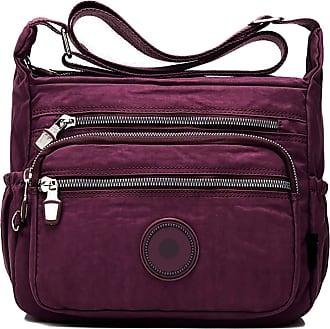 GFM Womens Nylon Cross Body Shoulder Bag (88)(S2-1218-GHJMN)
