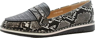 Saute Styles Ladies Women Flat Casual Snake Loafers Work Office Pumps School Shoes Size 7