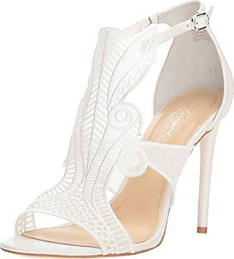 Imagine Vince Camuto Womens RASHI Heeled Sandal, Pure White, 11 Medium US