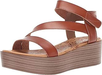 5afd66bc0ab Blowfish Womens Lover Wedge Sandal Scotch 8.5 M US