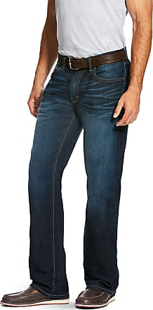 Ariat Mens M5 Slim Stretch Legacy Stackable Straight Leg Jeans in Durham Cotton, Size 34 36, by Ariat