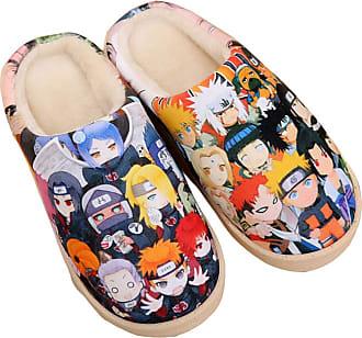 Cosstars Naruto Anime Anti-slip Home Slippers Cute Plush Warm Indoor Shoes