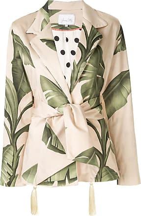 Johanna Ortiz Blazer Seriously Tropical - Verde