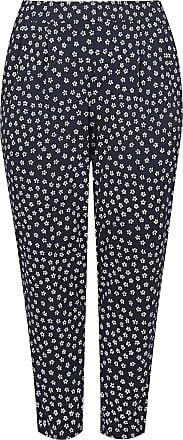 8f88eaa0e6d Yours Clothing Clothing Womens Plus Size Mini Floral Print Jersey Harem  Trousers Size 26-28