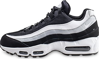 uk availability c4227 777c8 Nike Homme Air Max 95 Essential Noire Blanc Et Gris Baskets