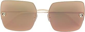 Cartier Óculos de sol Panthére de Cartier - Dourado