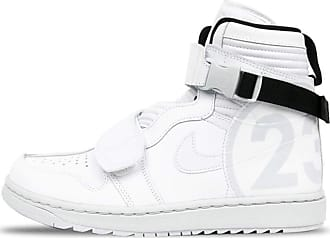 Nike Tênis Nike Air Jordan 1 Moto Pure Platinum White (43)
