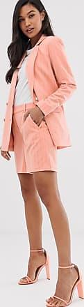 Ichi Anzug-Shorts mit Nadelstreifen-Rosa