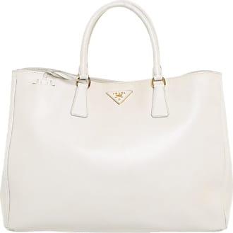 b778214bd190b Prada gebraucht - Handtasche aus Leder in Creme - Damen - Leder