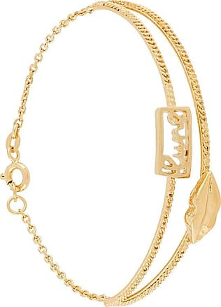 Wouters & Hendrix Mouth chain-embellished bracelet - Yellow