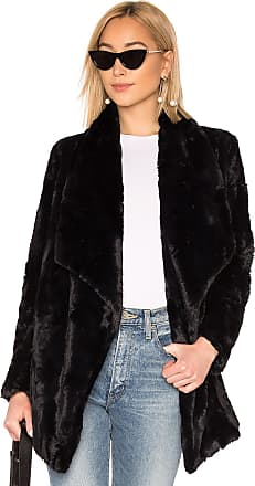 BB Dakota JACK by BB Dakota Warm Thoughts Faux Fur Jacket in Black