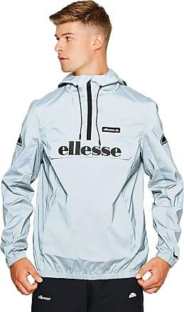 Ellesse Jacket Hooded Berto Overhead 1/4 Zip - Reflective - Medium
