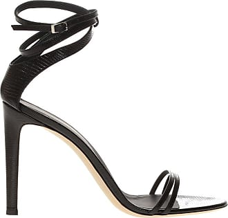 Giuseppe Zanotti Leather Stiletto Sandals Womens Black