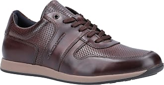 Base London Base Dakota Burnished Mens Leather Material Casual Shoes Brown - 12 UK