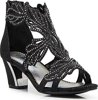 4f5c79021b6c Enzo Jeans Lime03N Womens Open Toe Mid Heel Wedding Rhinestone Gladiator  Sandal Wedge Shoes (7