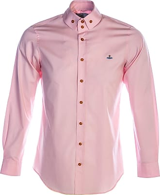 Vivienne Westwood Poplin 2 Button Krall Shirt in Pink