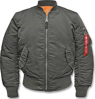 Alpha Industries MA-1 Bomberjacke repl.-grey, Größe 5XL