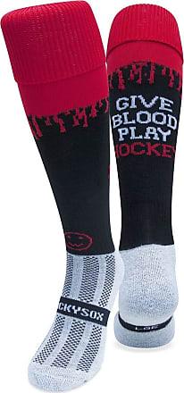 Wackysox Give Blood Play Hockey Socks, Rugby Socks, Hockey Socks