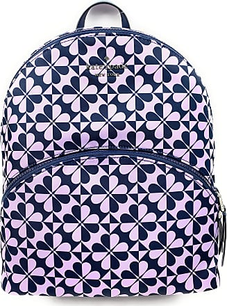 Kate Spade New York Kate Spade New York Karissa Nylon Large Backpack (petrlblmlt spade clover geo)