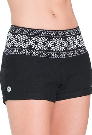 Red Nose SHORT RED NOSE TRICOT ARABESCO SHORT FEMININO TRICOT ARABESCO - RED NOSECO PRETO M