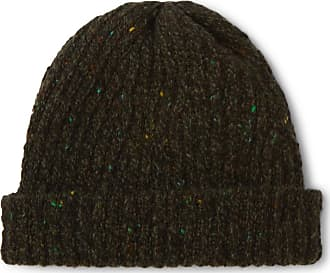 Inis Meáin Ribbed Merino Wool And Cashmere-blend Beanie - Gray